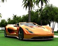Eco-Exotic ScorpionTM Supercar