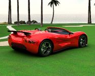 thumbnail image of Eco-Exotic ScorpionTM Supercar