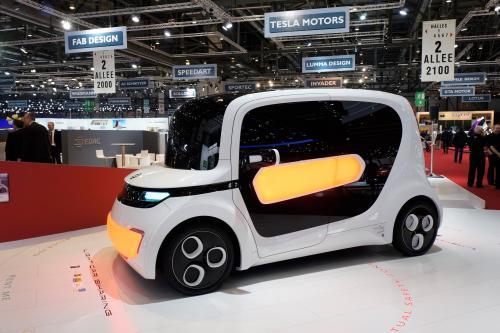 Geneva Motor Show: EDAG Light Car - Sharing concept car  - фотография edag