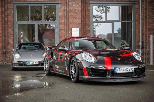 Спортивный Порше 911 Турбо от EDO