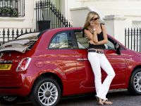 Elle Macpherson and Fiat 500C, 2 of 4