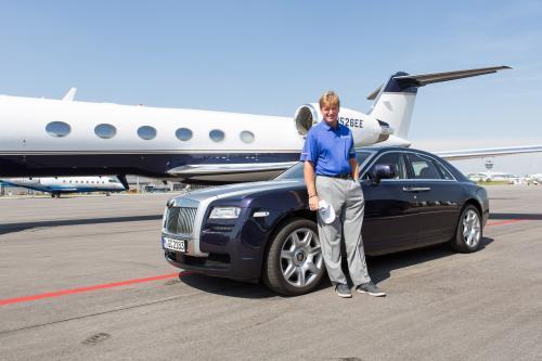 25 BMW International Open: Эрни Элс и Rolls-Royce Ghost