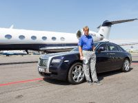 Ernie Els and Rolls-Royce Ghost, 1 of 3