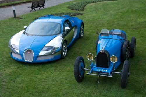 100 лет Bugatti на Concorso d