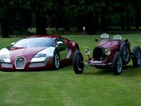 Ettore Bugatti Type 35 Grand Prix and Bugatti Veyron, 15 of 16
