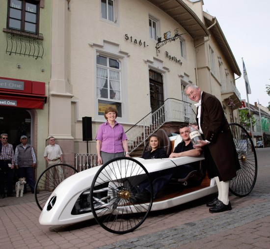 Mercedes-Benz F-CELL Roadster Bertha Benz Route