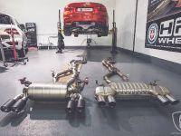 F82 BMW M4 Akrapovic Evolution Line Install, 10 of 18