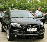 Luca Toni and his Audi Q7