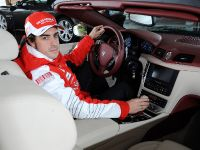Fernando Alonso and Maserati GranCabrio, 2 of 2
