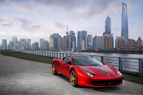 20 лет Ferrari в Китае, 20 специальных выпусков Ferarri 458 Italia