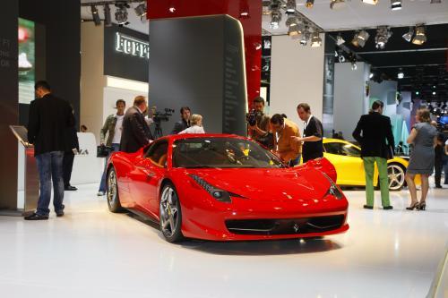 Ferrari 458 Italia - Live at Frankfurt Motor Show