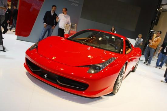 Ferrari 458 Italia Frankfurt
