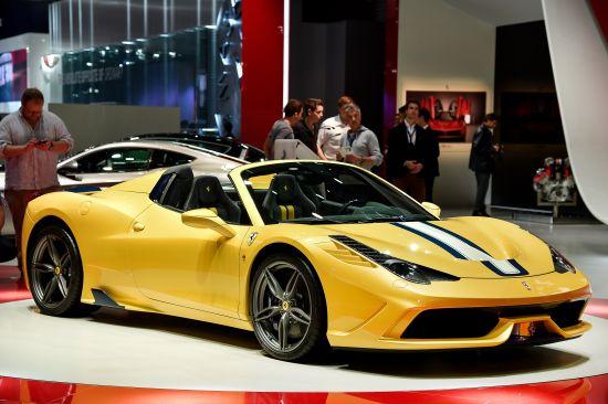 Ferrari 458 Speciale A Paris