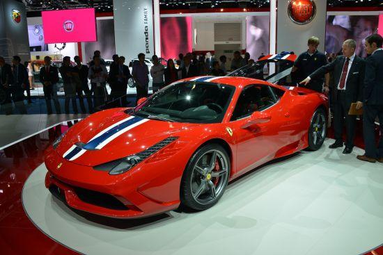 Ferrari 458 Speciale Frankfurt