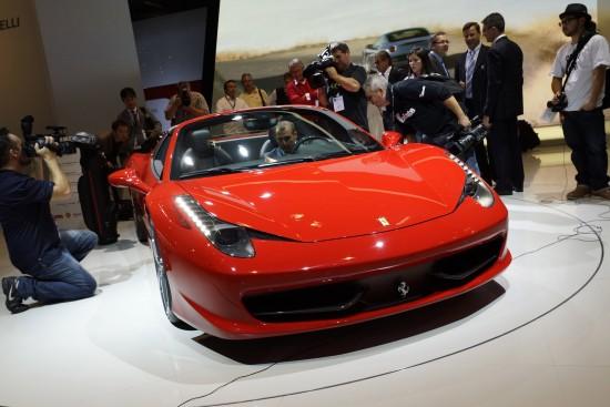 Ferrari 458 Spider Frankfurt