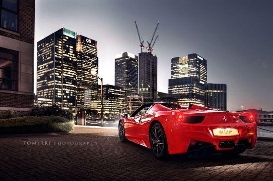 Ferrari 458 Spider Tomirri Photography
