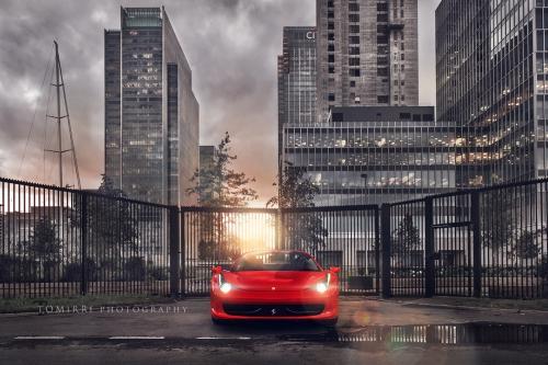 Ferrari 458 Spider глазами фотографа