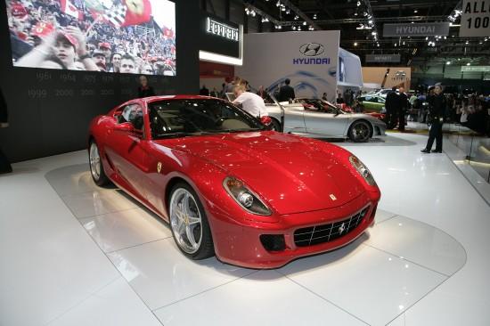 Ferrari 599 GTB Fiorano GTE Package Geneva