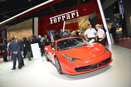 Ferrari at Paris Motor Show