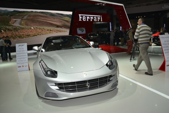 Ferrari at Paris Motor Show
