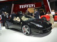 Ferrari 458 Spider Paris 2012