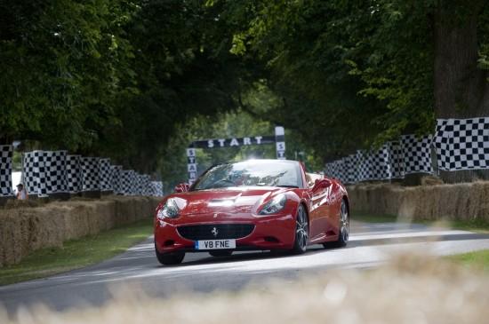 Ferrari at the Goodwood Festival of Speed Supercar Run