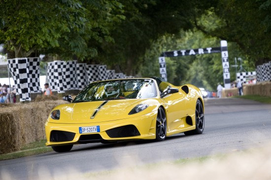 Ferrari at the Goodwood Festival of Speed Supercar Run