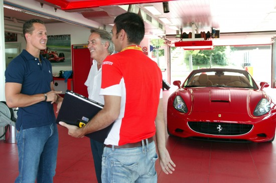 Ferrari California Tested By Shumaher