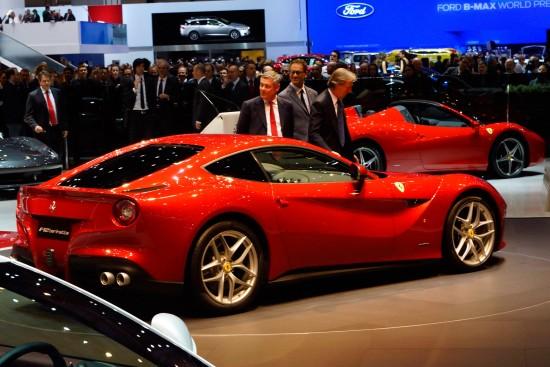 Ferrari F12berlinetta Geneva