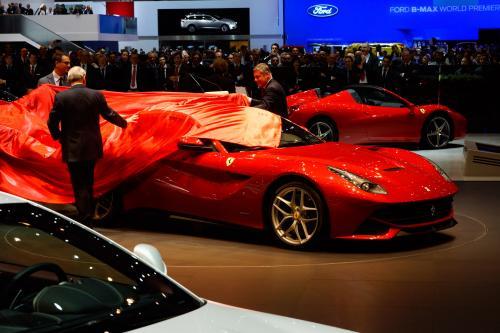 2012 Geneva Motor Show: Ferrari F12Berlinetta