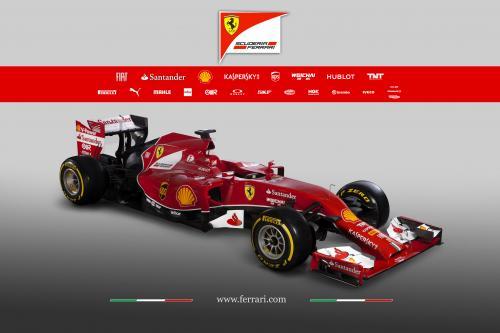 Феррари Запускает Ф14 Т Для Формулы Один