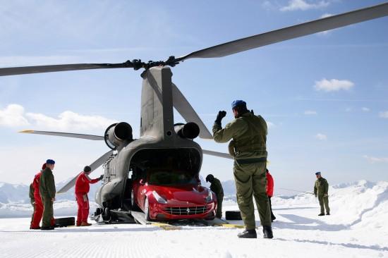 Ferrari FF at Plan De Corones