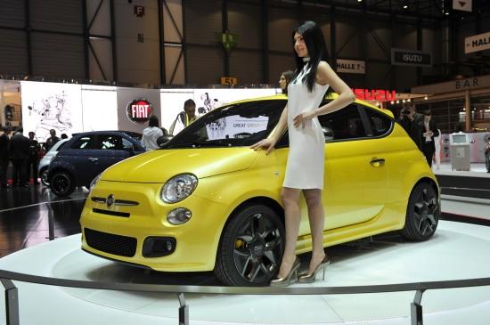 Fiat 500 Geneva