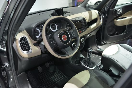 Fiat 500 L Paris