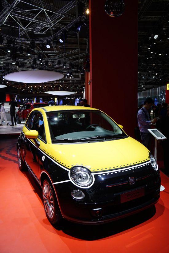 Fiat 500 Paris