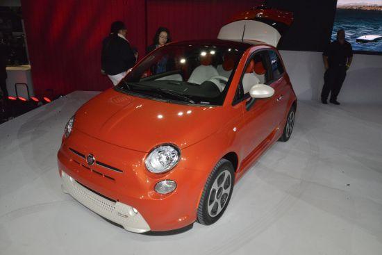 Fiat 500E Los Angeles