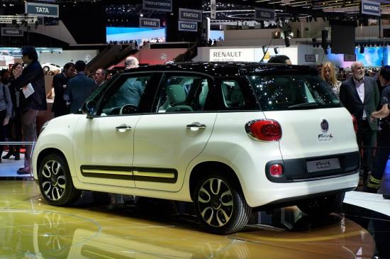 Fiat 500L Geneva