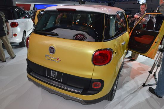Fiat 500L Los Angeles
