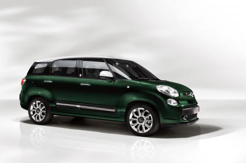 Первые фотографии Fiat 500L MPW выпущен