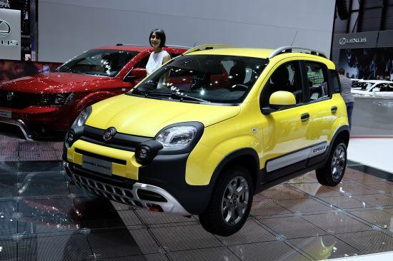 Fiat Panda Cross Geneva