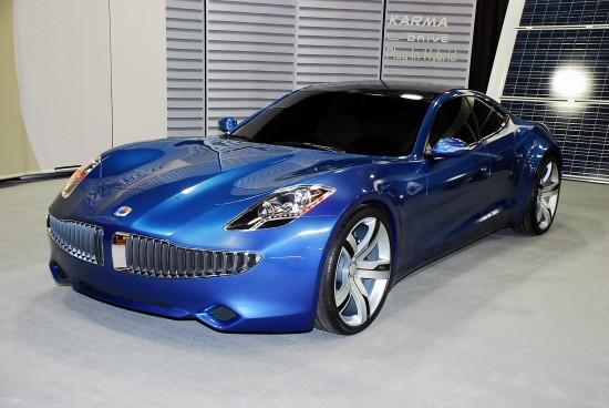 Fisker Karma Luxury Hybrid Detroit