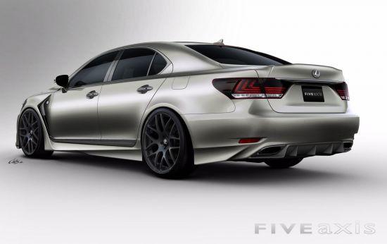 Five Axis Lexus PROJECT LS F SPORT
