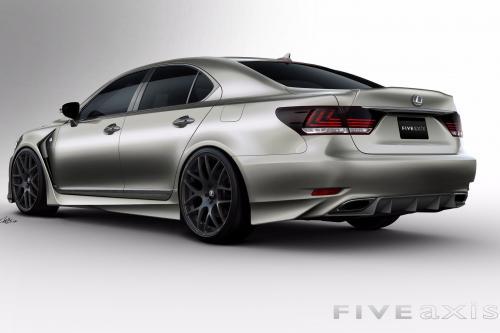 SEMA 2012: проекта Lexus LS F SPORT by Five Axis