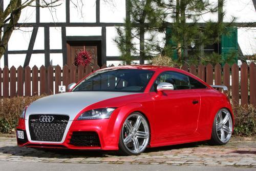 FolienCenter-NRW Audi TT RS в хром Красный доставляет 501 HP