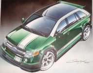 2010 Ford Edge RallyE by Santini Paint