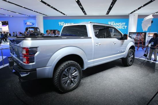 Ford Atlas Concept Detroit