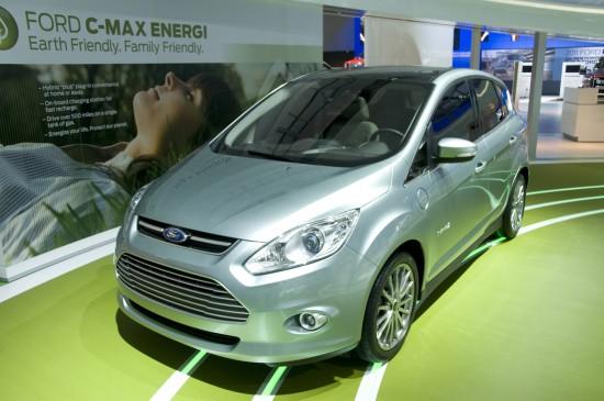 Ford C-MAX ENERGI Detroit