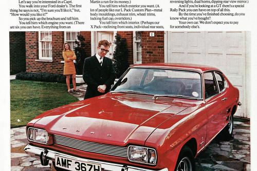 Настоящий Профессионал - Ford Capri В Сорок