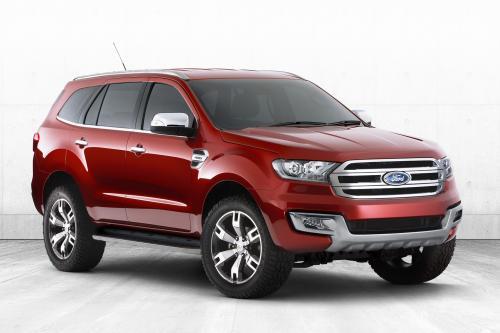 Форд Эверест концепция делает АСЕАН дебют