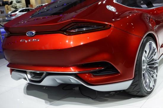 Ford Evos Concept Frankfurt
